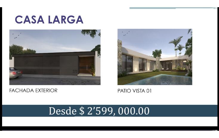 Foto de casa en venta en  , santa rita cholul, mérida, yucatán, 1489845 No. 02