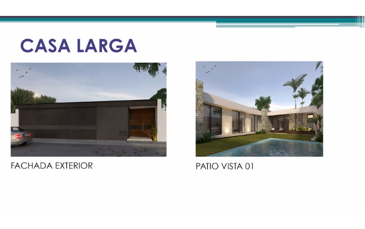 Foto de casa en venta en  , santa rita cholul, mérida, yucatán, 1489919 No. 01