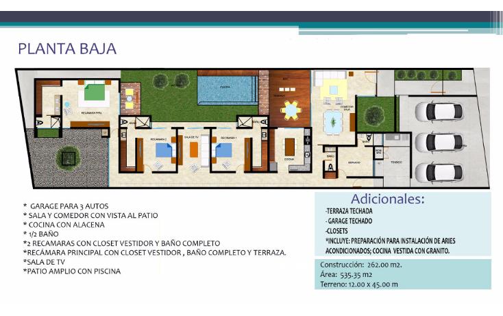 Foto de casa en venta en  , santa rita cholul, mérida, yucatán, 1489919 No. 04