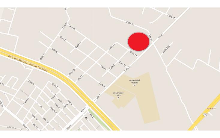 Foto de terreno habitacional en venta en  , santa rita cholul, mérida, yucatán, 1530288 No. 02