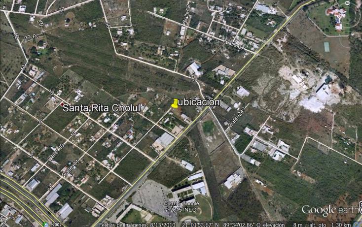 Foto de terreno habitacional en venta en  , santa rita cholul, mérida, yucatán, 1552820 No. 02