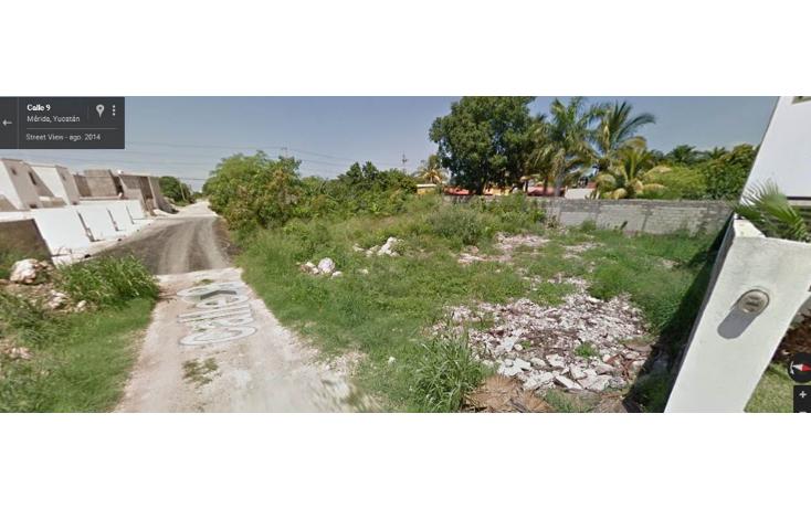 Foto de terreno habitacional en venta en  , santa rita cholul, mérida, yucatán, 1676644 No. 04