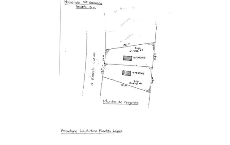 Foto de terreno habitacional en venta en  , santa ver?nica, tecate, baja california, 1047597 No. 06