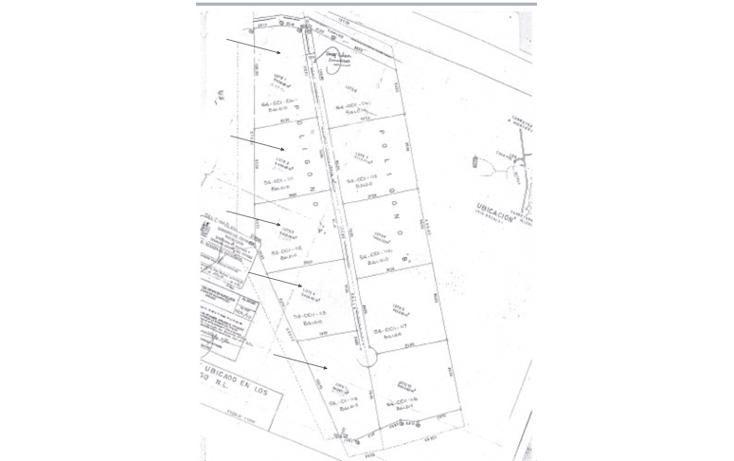 Foto de terreno habitacional en venta en  , santiago centro, santiago, nuevo león, 947611 No. 01