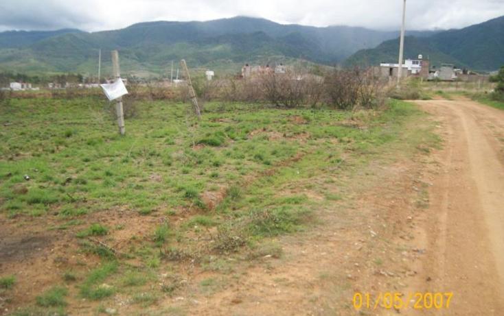 Foto de terreno habitacional en venta en  , santiago etla, san lorenzo cacaotepec, oaxaca, 853251 No. 02