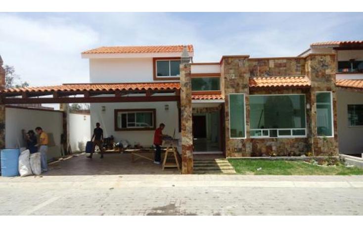 Foto de casa en venta en  , santiago mixquitla, san pedro cholula, puebla, 1604012 No. 01