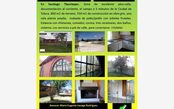 Foto de casa en venta en  , santiago tlacotepec, toluca, m?xico, 1783862 No. 01