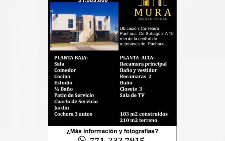 Foto de casa en venta en, santiago tlapacoya centro, pachuca de soto, hidalgo, 1746067 no 01