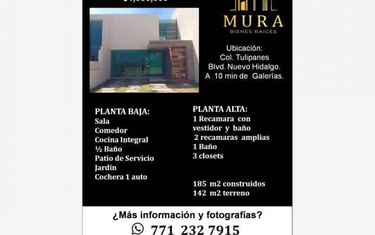 Foto de casa en venta en, santiago tlapacoya centro, pachuca de soto, hidalgo, 1746067 no 02