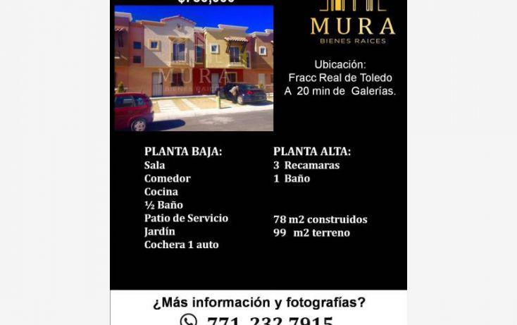 Foto de casa en venta en, santiago tlapacoya centro, pachuca de soto, hidalgo, 1746079 no 05