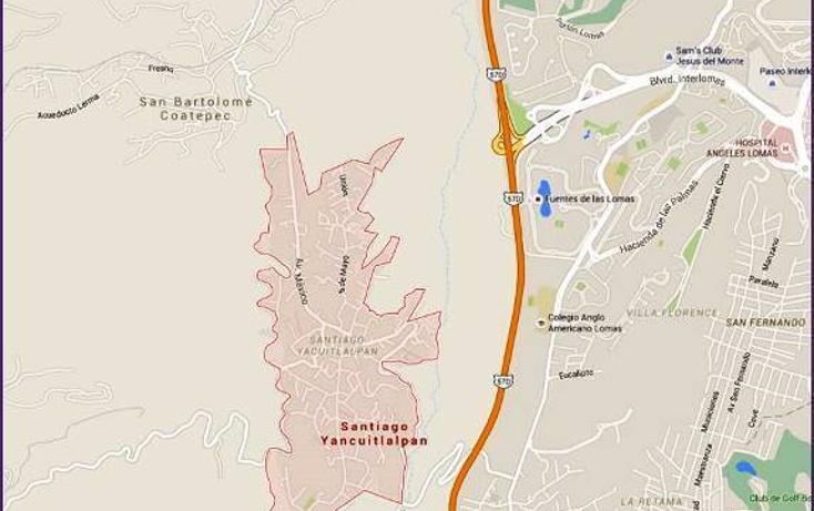 Foto de terreno habitacional en venta en  , santiago yancuitlalpan, huixquilucan, m?xico, 1657397 No. 05