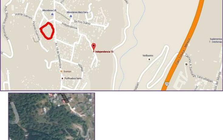 Foto de terreno habitacional en venta en  , santiago yancuitlalpan, huixquilucan, m?xico, 1657397 No. 06