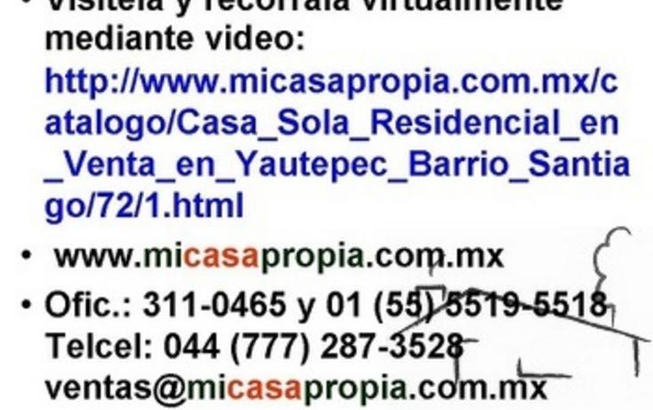Foto de casa en venta en  , santiago, yautepec, morelos, 1076499 No. 08