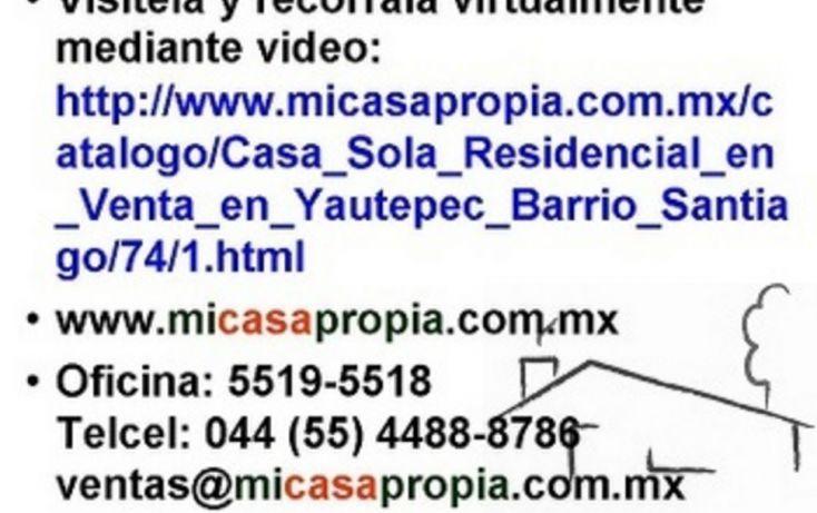 Foto de casa en venta en, santiago, yautepec, morelos, 1095839 no 11