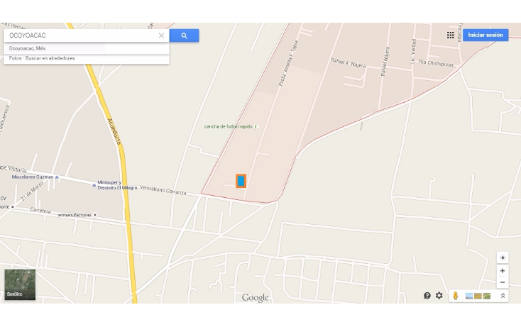 Foto de terreno habitacional en venta en  , santiaguito, ocoyoacac, méxico, 1109511 No. 03