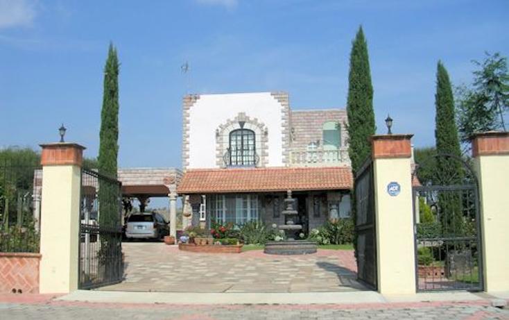 Foto de casa en venta en  , santillán, tequisquiapan, querétaro, 1327939 No. 01