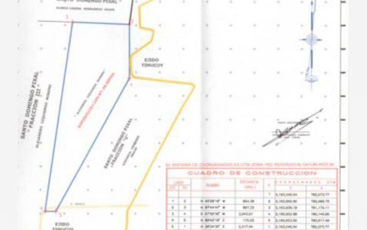 Foto de terreno habitacional en venta en santo domingo pial r472, tixmucuy, campeche, campeche, 1593838 no 01