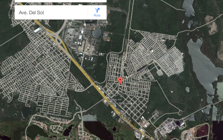 Foto de terreno habitacional en venta en, satélite chapala, altamira, tamaulipas, 1970666 no 02