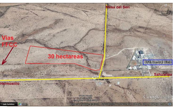 Foto de terreno industrial en venta en  , sector industrial presa, hermosillo, sonora, 1247607 No. 02