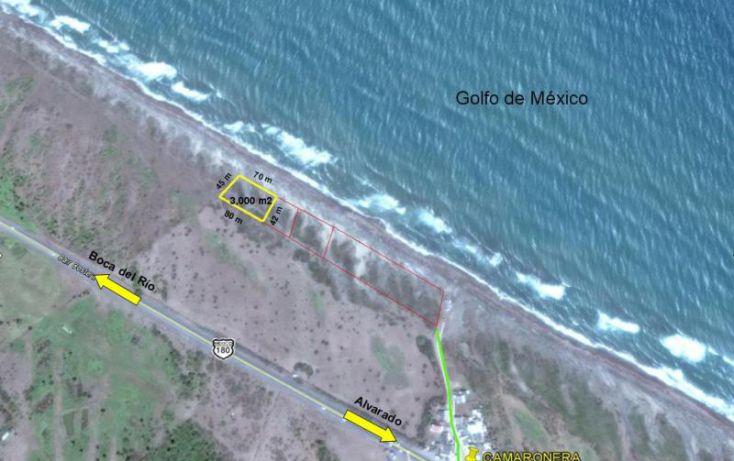 Foto de terreno comercial en venta en secundaria 1, camaronera, alvarado, veracruz, 1998546 no 01