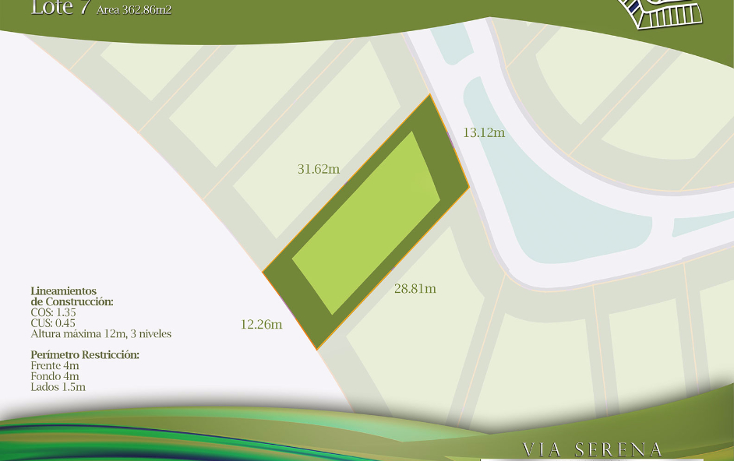 Foto de terreno habitacional en venta en  , selvamar, solidaridad, quintana roo, 1429865 No. 05