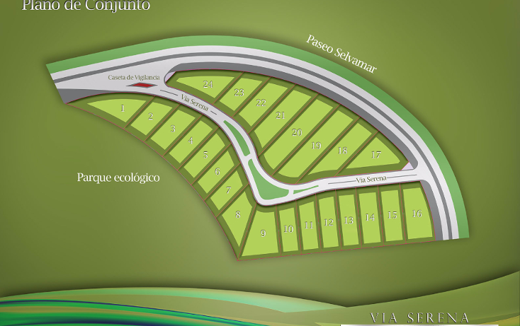Foto de terreno habitacional en venta en  , selvamar, solidaridad, quintana roo, 1430163 No. 02