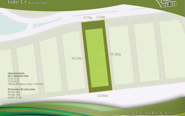 Foto de terreno habitacional en venta en  , selvamar, solidaridad, quintana roo, 1430553 No. 05