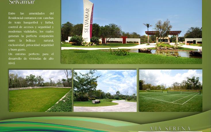 Foto de terreno habitacional en venta en  , selvamar, solidaridad, quintana roo, 1430681 No. 04