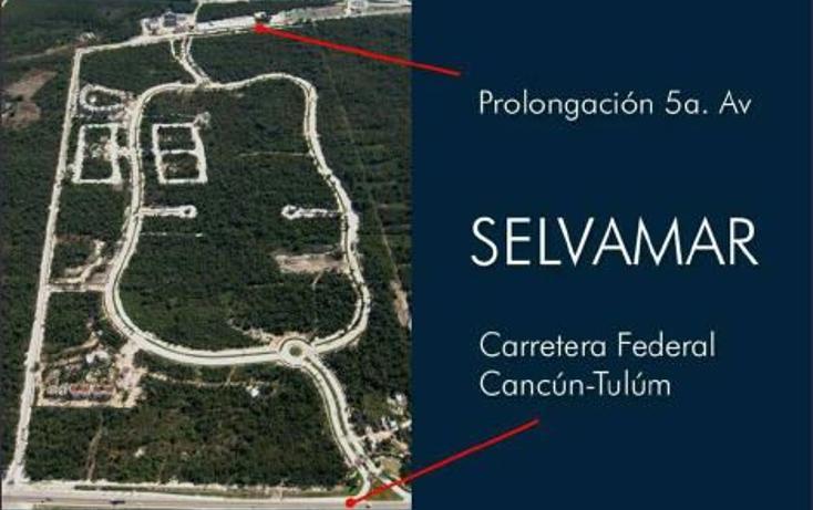Foto de terreno habitacional en venta en  , selvamar, solidaridad, quintana roo, 823659 No. 06