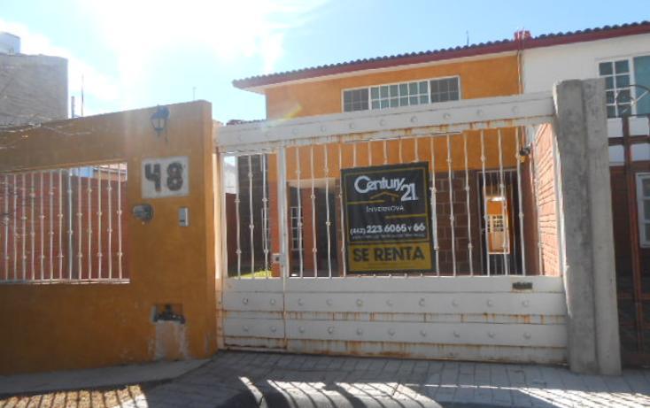 Foto de casa en renta en sendedro de las delicias 48, milenio iii fase a, querétaro, querétaro, 1702438 no 01