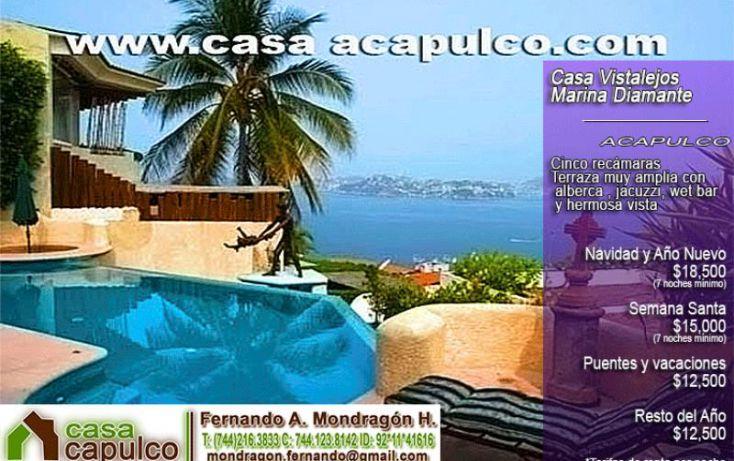 Foto de casa en renta en sendero de poseidón 9, marina brisas, acapulco de juárez, guerrero, 1425025 no 01