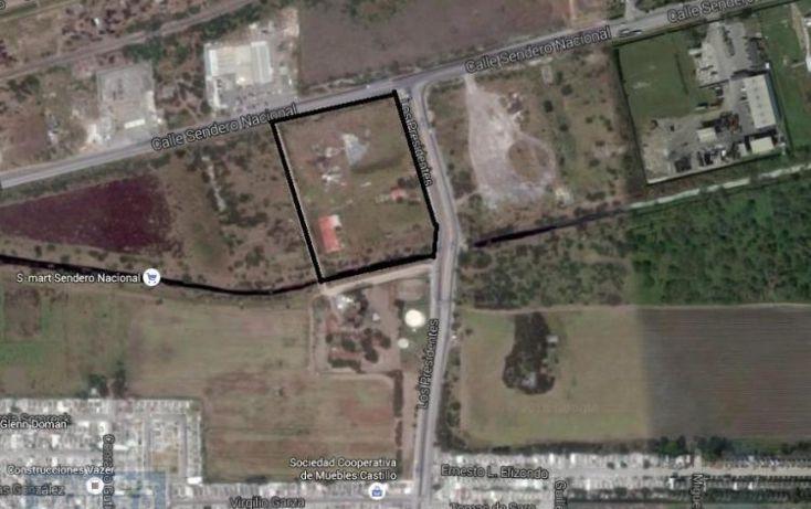 Foto de terreno habitacional en renta en sendero nacional, los arados, matamoros, tamaulipas, 1859940 no 01