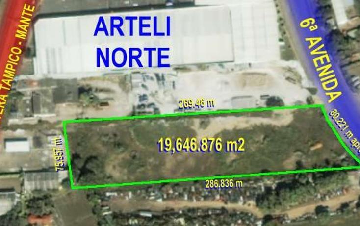 Foto de terreno habitacional en venta en sexta avenida 0, laguna de la puerta, tampico, tamaulipas, 2647694 No. 01