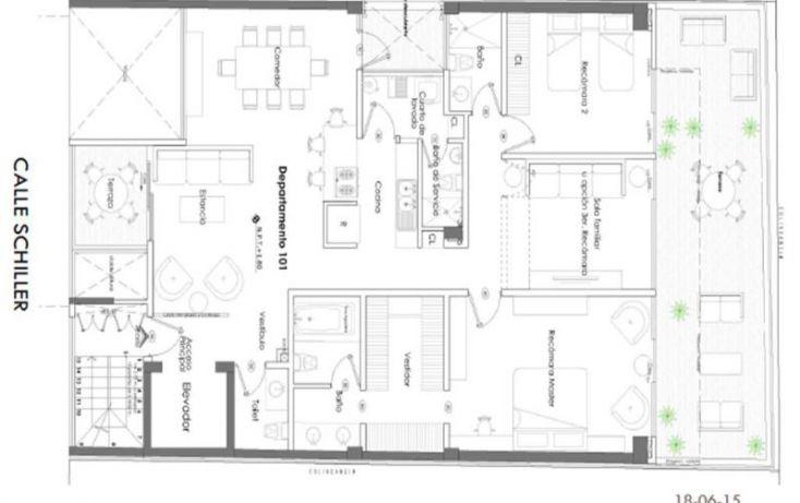 Foto de departamento en venta en shiller, polanco v sección, miguel hidalgo, df, 1439253 no 04