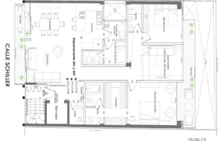 Foto de departamento en venta en shiller, polanco v sección, miguel hidalgo, df, 1439253 no 05