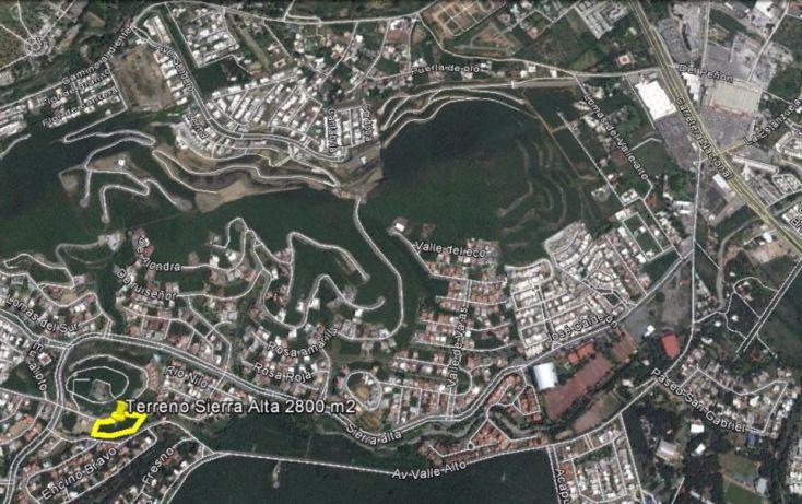 Foto de terreno habitacional en venta en, sierra alta 2 sector, monterrey, nuevo león, 2042154 no 01