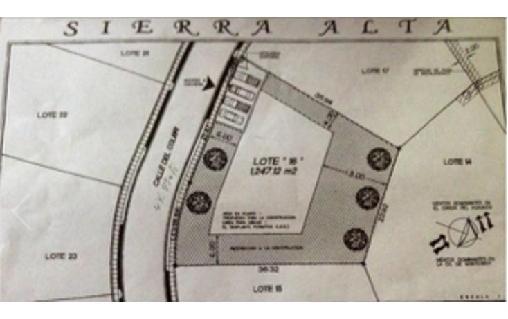 Foto de terreno habitacional en venta en  , sierra alta 3er sector, monterrey, nuevo león, 1601894 No. 09