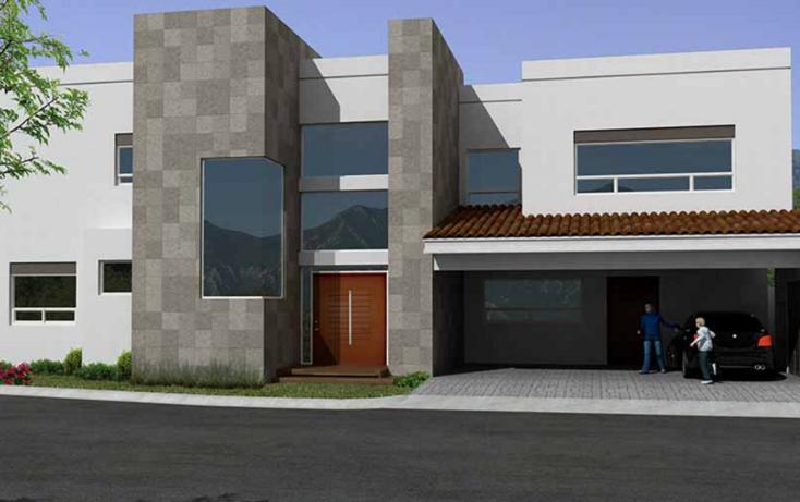 Foto de casa en venta en  , sierra alta 5 sector, monterrey, nuevo león, 1278311 No. 01