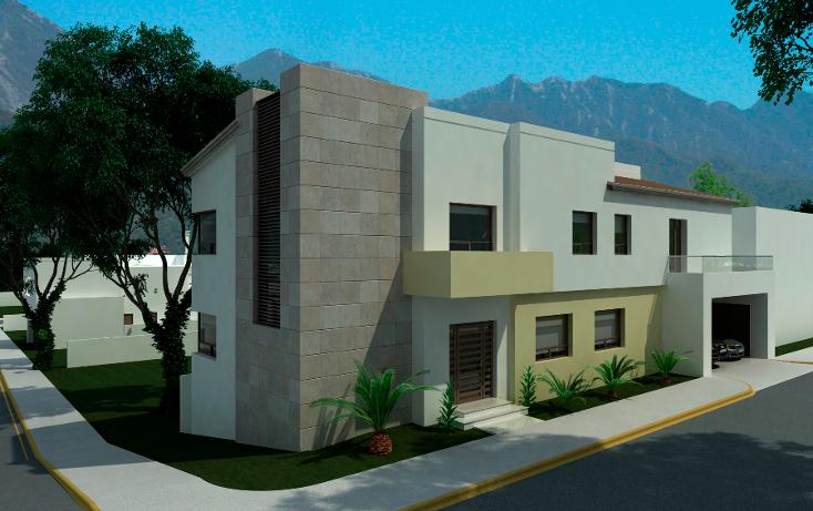 Foto de casa en venta en  , sierra alta 5 sector, monterrey, nuevo león, 1286673 No. 01