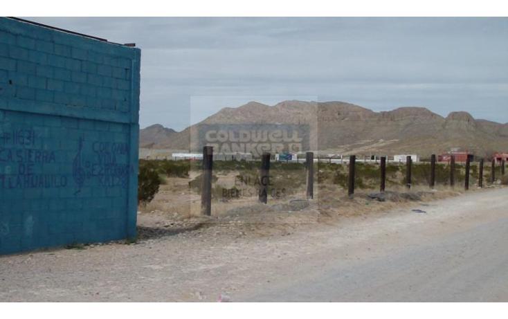 Foto de terreno habitacional en venta en sierra de tlahualilo fraccion de lote , plazuela de acuña, juárez, chihuahua, 793359 No. 04