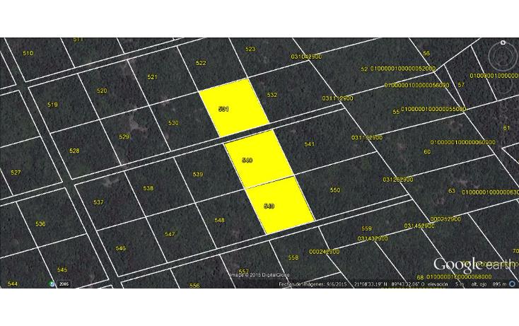 Foto de terreno comercial en venta en  , sierra papacal, mérida, yucatán, 1040273 No. 02
