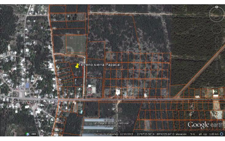 Foto de terreno habitacional en venta en  , sierra papacal, mérida, yucatán, 1121417 No. 03