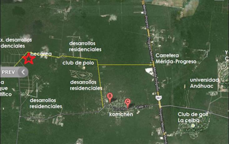 Foto de terreno habitacional en venta en  , sierra papacal, mérida, yucatán, 1267615 No. 03