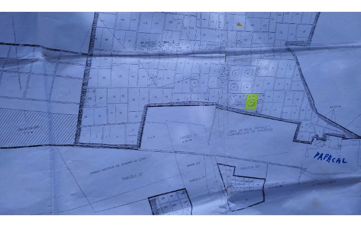 Foto de terreno habitacional en venta en  , sierra papacal, mérida, yucatán, 1289179 No. 03