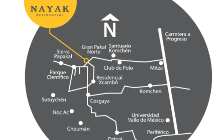 Foto de terreno habitacional en venta en  , sierra papacal, mérida, yucatán, 1663024 No. 05