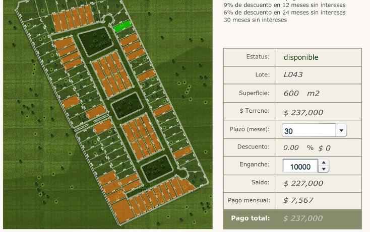 Foto de terreno habitacional en venta en  , sierra papacal, mérida, yucatán, 1663024 No. 06