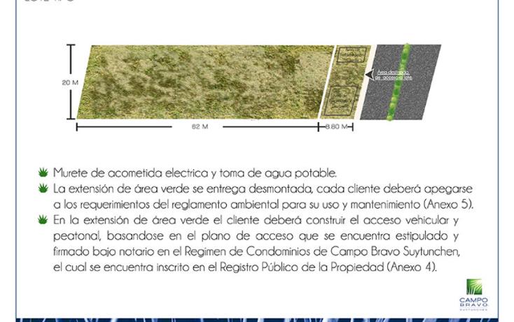Foto de terreno habitacional en venta en, sierra papacal, mérida, yucatán, 1933358 no 05
