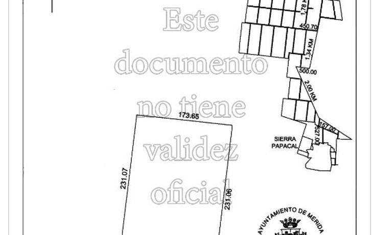 Foto de terreno habitacional en venta en  , sierra papacal, mérida, yucatán, 2010248 No. 02