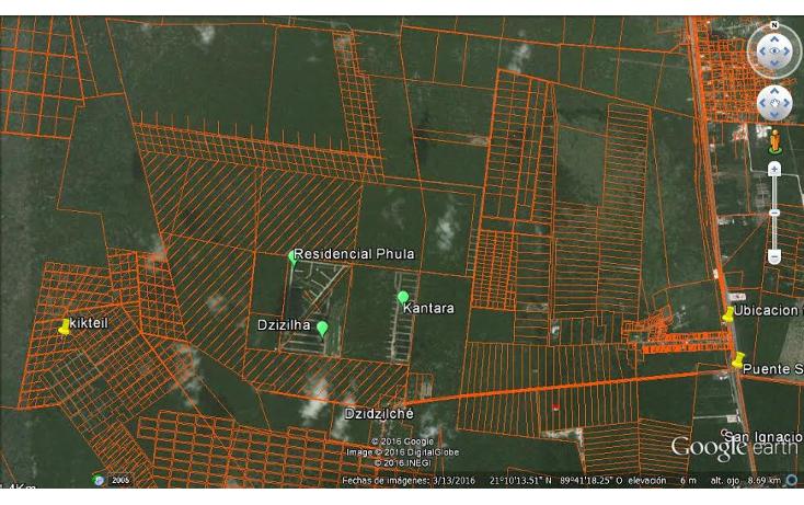 Foto de terreno habitacional en venta en  , sierra papacal, mérida, yucatán, 2035034 No. 01