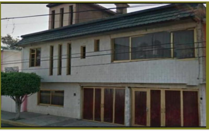 Foto de casa en venta en  , siete maravillas, gustavo a. madero, distrito federal, 1847486 No. 01